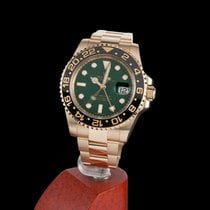 Rolex Oyster Perpetual GMT-MASTER II Yellow Gold Ceramic