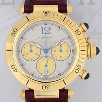 Cartier Pasha 18K Gold Chronograph Kaliber 053 Klassiker...