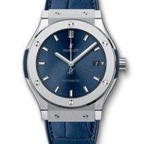 Hublot Classic Fusion 45mm · Blue Titanium 511.NX.7170.LR