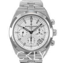 江诗丹顿 (Vacheron Constantin) Overseas Chronograph Silver/Steel...