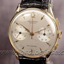 Universal Genève Uni-compax 18kt. Gold Chronograph Cal. 285...