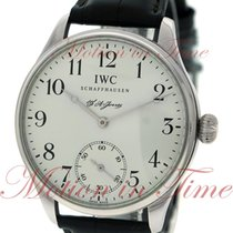 IWC Portuguese F.A. Jones, Silver Dial, Limited Edition to 500...