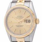 Rolex Datejust : 16233 champagne dial on Jubilee bracelet