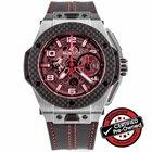 Hublot Big Bang Ferrari Titanium Carbon Ref. 401.NQ.0123.VR...