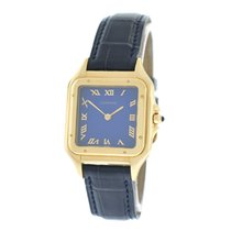 Cartier NOS Ladies  Midsize 27MM Panthere 883969 Solid 18K Gold
