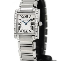 Cartier Tank Francaise 2384, Custom Diamond Setting