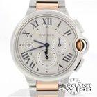 Cartier Ballon Bleu 44MM 2-Tone Chronograph Watch W692007
