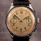 Cyma Vintage 38mm Coin-edge Case Steel Chronograph Cal....