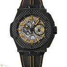 Hublot Big Bang Ferrari Yellow Ceramic Carbon Rubber Men`s Watch