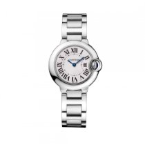 Cartier Ballon Bleu de Cartier Watch, 28 mm, Quartz, Steel