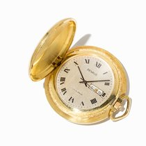 Benrus , Gold-Plated Day-Date Tail-Coat Watch, Germany, c. 1960