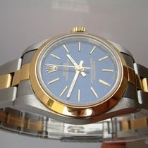 Rolex OYSTERPERPETUAL LADY ACC & ORO 18 KT