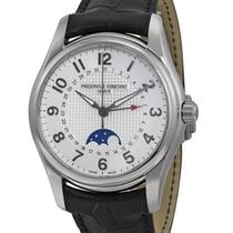 Frederique Constant Runabout Steel Leather Men`s Watch