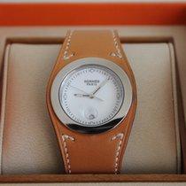 Hermès Harnais Ladies Watch - Stainless Steel & Hermes Leath
