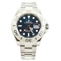 Rolex  40mm Yachtmaster Newstyle Watch 116622 Blue Dial