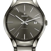 Rado True Automatic Index anthrazit Datum -NEU-