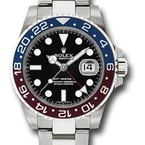 Rolex GMT Master II 18K White Gold Oyster Automatic