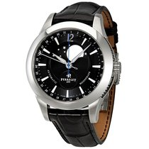 Perrelet Moonphase Automatic Black Dial Men's Watch
