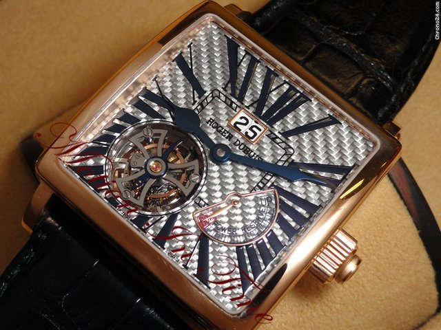 Roger Dubuis GOLDEN SQUARE TOURBILLON POWER RESERVE LIMITED 28 PIECES R/G