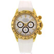 Rolex Men's Rolex Daytona Cosmograph 18k Yellow Gold 16528