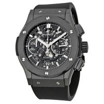 Hublot Classic Fusion Aerofusion Skeleton Chronograph Black Magic