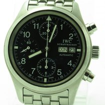 IWC Der Flieger Pilot Chronograph Iw3706 Day Date Automatic...