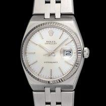 Rolex vintage Datejust 17014 oysterquartz , w.g. bezel