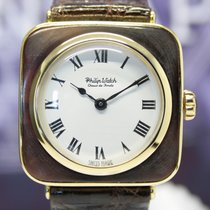 Philip Watch Rectangular Chaux de Fonds cocktail gold italian...