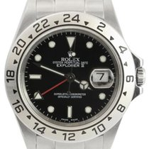 "Rolex Explorer II Men's ""No Holes"" Steel Watch,..."