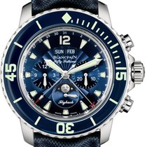 Blancpain Fifty Fathoms Complete Calendar Flyback Chronograph...