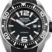 Hacher Squalo Professional Diver Typ One Stahl Automatik...