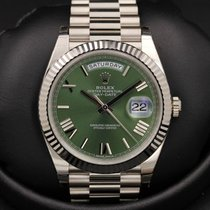 Rolex Day-Date 40 - 228239 - Green Roman Dial - 40mm - BASEL...