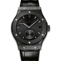 Hublot CLASSIC FUSION POWER RESERVE ALL BLACK
