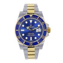 Rolex Submariner Steel & 18K Yellow Gold Blue Ceramic