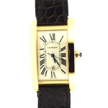 Cartier Tank Americaine Large size Pink gold