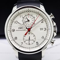 IWC IW390211 Portuguese Yacht Club Flyback SS Silver Dial (25479)