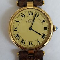 Cartier Tank Vermeil - Ladies Wristwatch