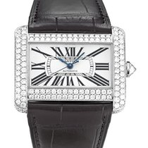 Cartier WA301770 Tank Divan 32mm in White Gold with Diamond...