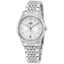 Oris Classic Silver Dial Stainless Steel Men's Watch...