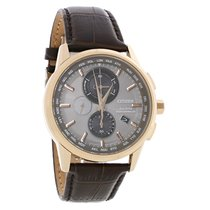 Citizen Eco-Drive A-T Radio Controlled Mens Rose Gold Watch...