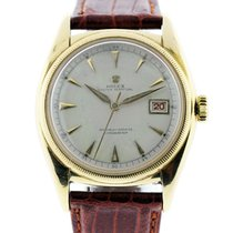 Rolex 6075 Bubble Back 18k  Gold  Watch
