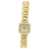 Longines Ladies Vintage Longines 18k Yellow Gold and Diamonds