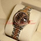 Rolex Datejust 26mm Stainless Steel & Gold Rose Gol...