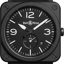 Bell & Ross AVIATION BRS BLACK MATTE CERAMIC
