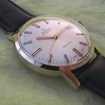 Omega 14ct golden Geneve automatic, serviced and with box