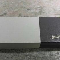Eberhard & Co. vintage watch box leaather grey