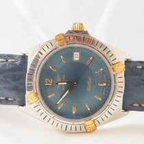 Breitling Callisto Windrider Quartz Steel Gold 34mm Blue Dial