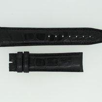 IWC Lederband / Alligator / Schwarz 20/18mm 115/75mm