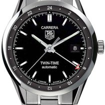 TAG Heuer CARRERA TWIN TIME Ref. WV2115.BA0787