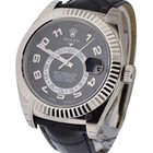 Rolex Used Sky Dweller Oyster Perpetual White Gold with Fluted...